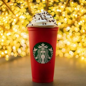 $3Starbucks Happy Hour Holiday Drink Deal