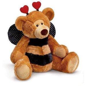 plushible蜜蜂小熊