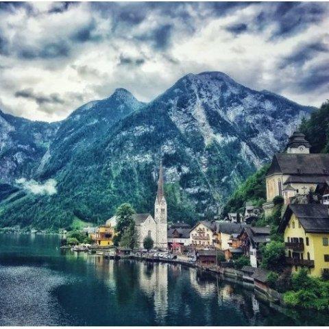 来自天堂的明信片全世界最美小镇 奥地利哈尔施塔特