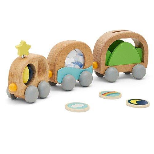磁力玩具车,适合年龄 1+