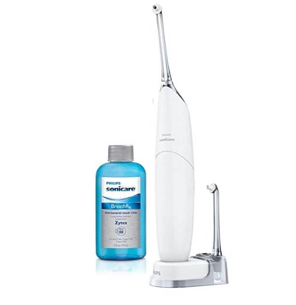 Philips Sonicare HX8332/11便携空气动力牙线+漱口水