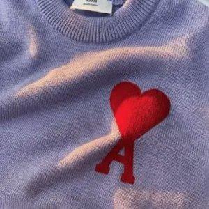 低至5折 €143收爱心卫衣Ami Paris 夏季大促 年度人气王大爱心 王俊凯、Baby都在穿