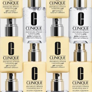Free up to 11-Piece Gift (Up To $135 Value)with Hydrating Jelly Products $29 Order @ Clinique