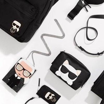 低至7.5折 £86入手时尚腰包Karl Lagerfeld 时尚界不朽传奇的同名品牌  坐等你来拥有