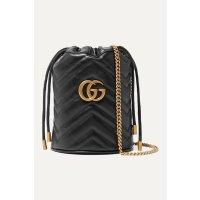 Gucci GG Marmont 水桶链条包