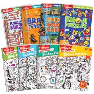 6.5折+包邮独家:Highlights 2020版 Hidden Pictures 和Puzzle 趣味书套装