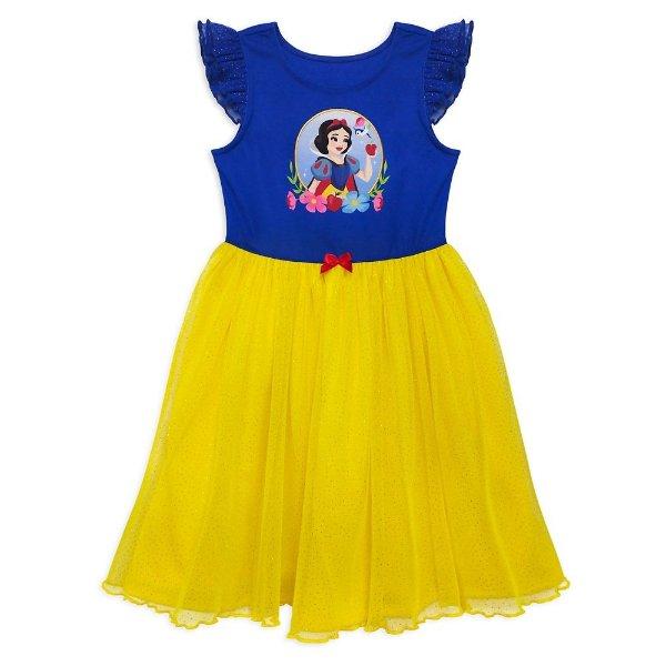Snow White 女童豪华睡裙