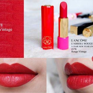 谁说正红色不温柔|唇膏也要有自己的style