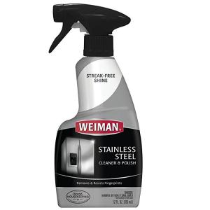 销量冠军 $5.49(原价$8.78)Weiman 不锈钢专用清洁喷雾 355ml