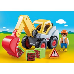 Playmobil挖掘机