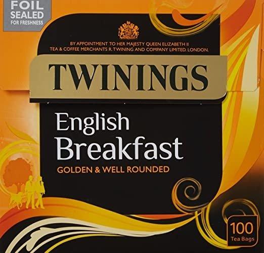 Twinings 英早 100茶包