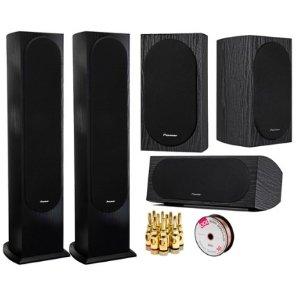 $289Pioneer 2-Pack Andrew Jones Designed Floorstanding Loudspeaker Speaker Bundle