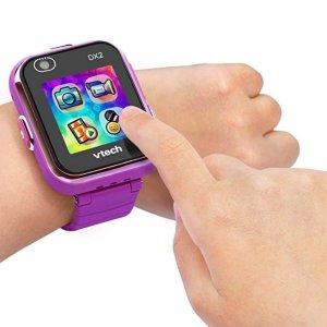 $34.39(原价$59.99)史低价:VTech DX2 触屏儿童智能手表,两色可选