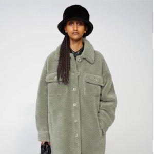 StandSabi jacket 衬衫泰迪熊大衣