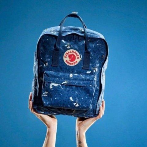 8折优惠 16L经典款$63 mini $55Fjallraven Kanken 背包大促 多种尺寸 多色可选