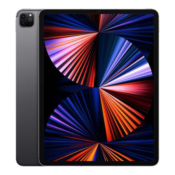 """iPad Pro 12.9"""" 平板电脑 (M1芯片, Wi‑Fi+Cellular, 128GB)"""