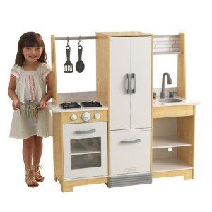$59.99KidKraft 现代风木质小厨房玩具