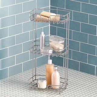 $8.98Chapter Bathroom Floor Stand, Satin Nickel @ Walmart