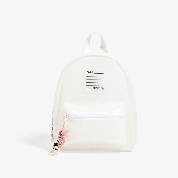 白色磨砂PVC小包包