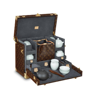 $39500 礼重情意重中秋精选:LV的中国风情结 尊贵茶具礼盒 送给你最在乎的人
