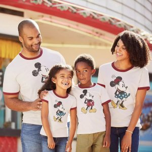 30% OffshopDisney Graphic T-shirts for Kids & Adults