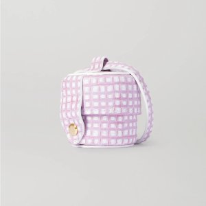 JacquemusLe Micro Vanity mini checked leather shoulder bag