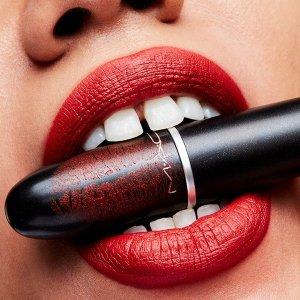 低至6折,chilli仅£13MAC 全线彩妆大促,子弹头口红、Omega、DG高光收起来