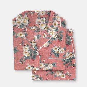 4折起 £17收睡衣 整套睡衣仅£30上新:Cath Kidston官网 家居服、睡衣大促 100%纯棉 舒适好看