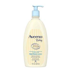 $8.97(原价$11.98)Aveeno Baby 宝宝燕麦精华保湿乳液 无香型 532ml