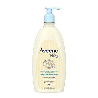 Aveeno Baby Daily Moisture Lotion, Fragrance-Free, 18 fl. Oz