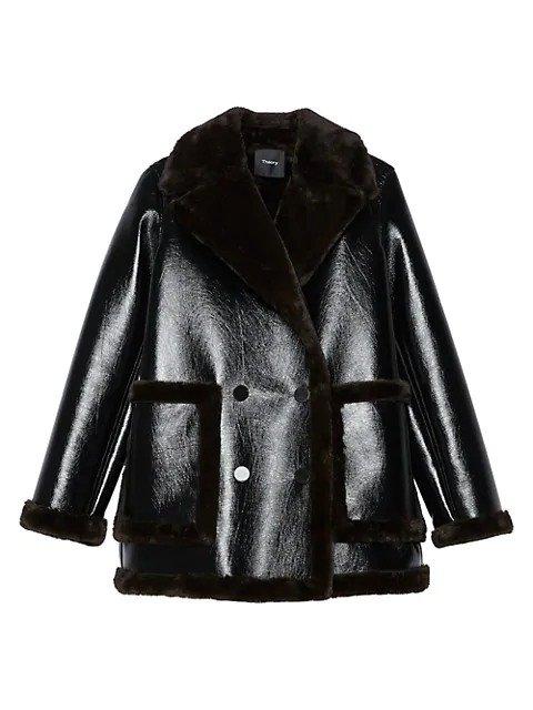 环保皮革外套