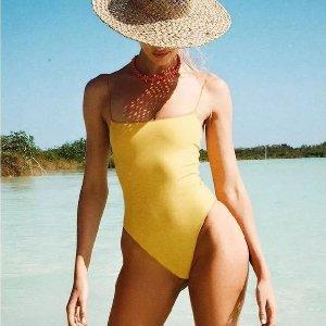 3.9折起 封面款牛油果绿$89上新:Lululemon 高颜值泳衣 $29收游泳裤 $79收一片式香芋紫