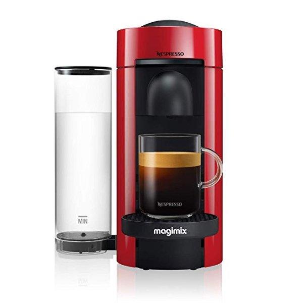 Vertuo Plus 限量版红色胶囊咖啡机