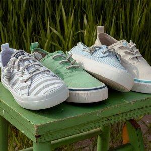 低至6折Sperry 春季精选男女舒适休闲鞋促销