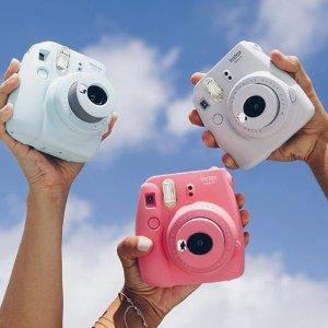 $69(原价$89)网络购物周特价!Fujifilm Instax Mini 9 富士迷你拍立得相机 多色可选