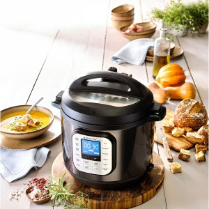 Black Friday Sale Live: Instant Pot Duo Nova Black Stainless Steel 6-Qt. 7-in-1 One-Touch Multi-Cooker