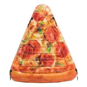 披萨单人漂浮床