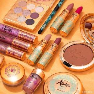 满额送唇釉+散粉中样M.A.C 彩妆产品热卖 收阿拉丁系列、定妆喷雾