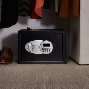 $39.89 (原价$56.99)AmazonBasics  0.5立方呎私人储物保险箱