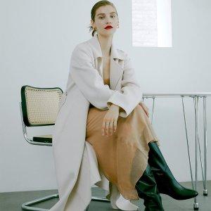 限时8.5折 三色可选FRONTROW 精品系列预售特惠 收MaxMara式高级羊绒大衣