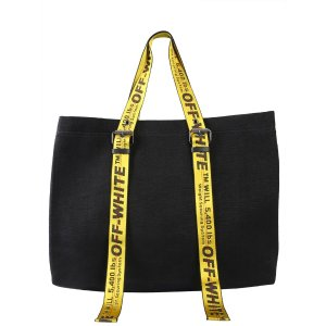 Off-WhiteIndustrial Handle Tote Bag