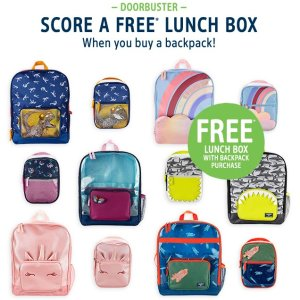 Get a Lunchie for freeOshKosh BGosh When You Buy a Backpack