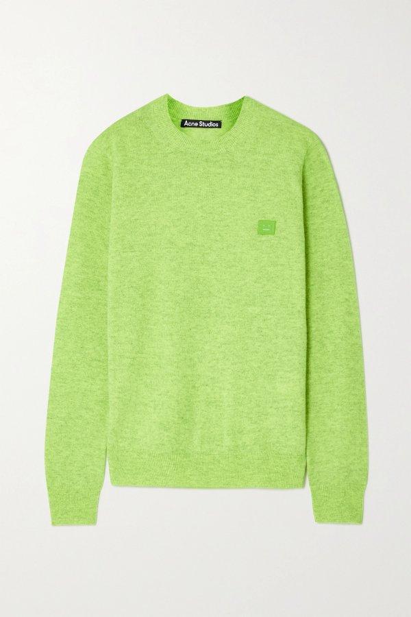 + NET SUSTAIN羊毛毛衣