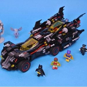 现价 £99(原价£139.99)LEGO乐高  蝙蝠侠大电影 70917 蝙蝠侠 4合1 終极战车