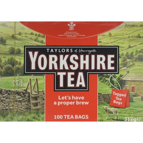 Yorkshire 红茶100包 自制烤奶、奶茶必备