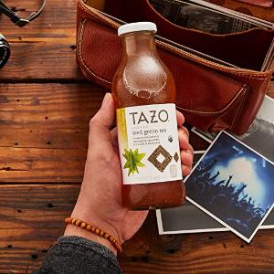 白菜价$9.52Tazo 有机冰绿茶 13.8oz. 8瓶