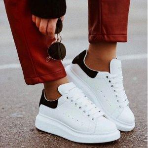 8.5折!£297就收小白鞋Alexander Mcqueen 近期超好价 超全小白鞋、帆布鞋速速入
