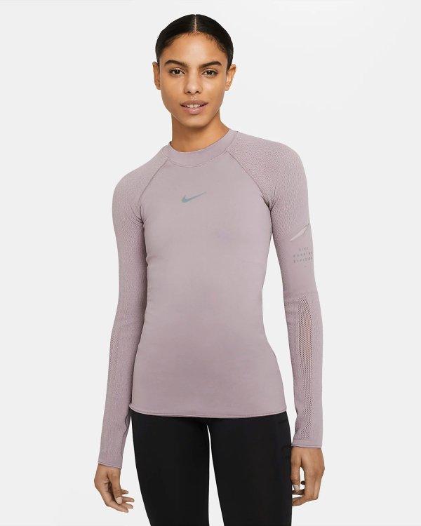 紫色运动上衣