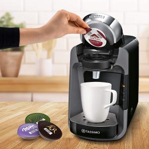 低至€44 智能快速启动Tassimo Suny 胶囊咖啡机 可制作超过70种饮品 一分钟即成