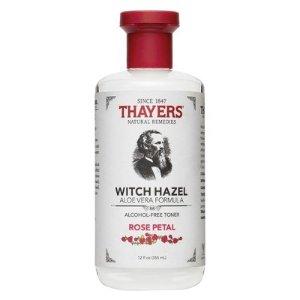 Thayers Witch Hazel Alcohol Free Toner - Rose Petal - 12oz : Target